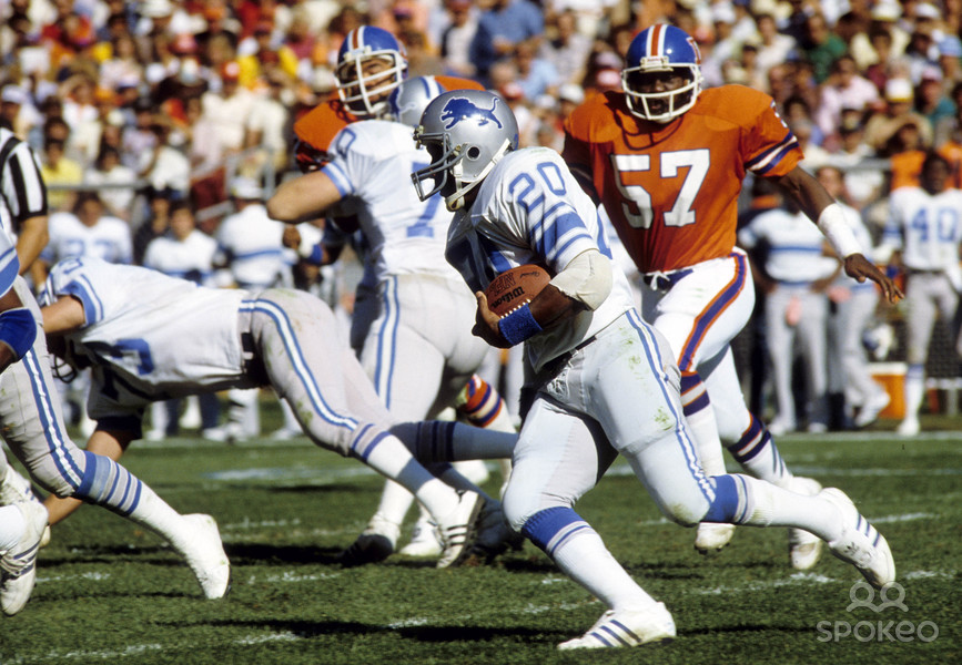 Sorry, that Billy sims lions lick sorry, can