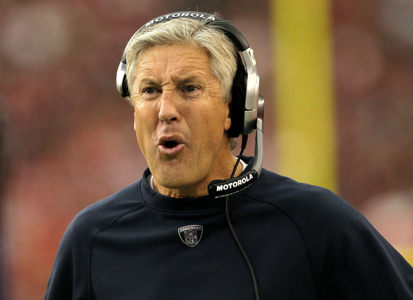 """Pete Carroll says facing the Patriots in the Super Bowl will be """"a little bit personal"""""""