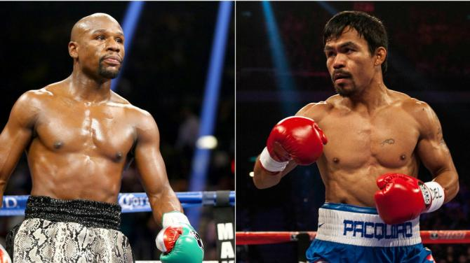 Floyd Mayweather is now worried about the protection size of Manny Pacquiao's junk