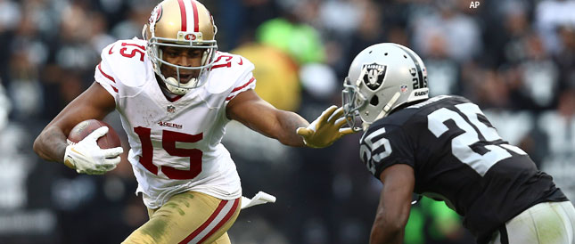 Michael Crabtree signs with the Raiders