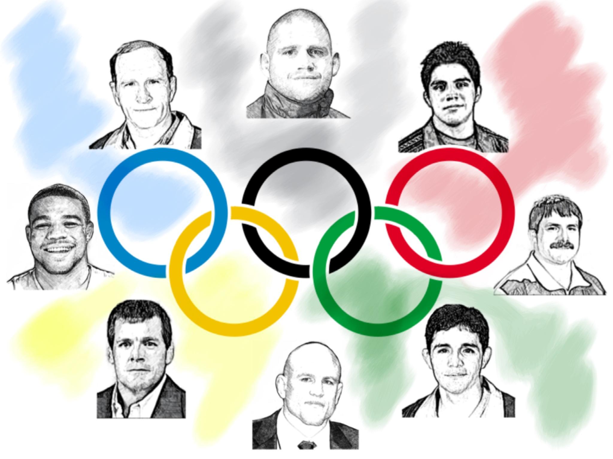 Olympic Wrestling Legends
