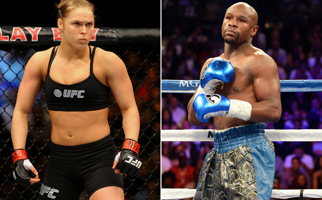 Could Ronda Rousey beat Floyd Mayweather in a no-rules fight? Find out what she thinks