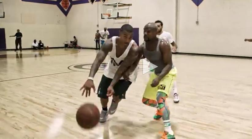 Michael Jordan squared off against Jimmy Butler at his camp