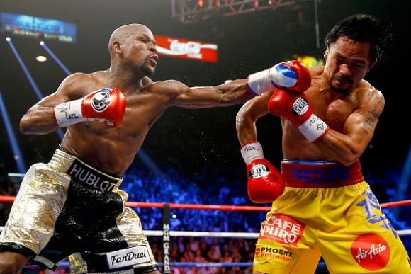 Floyd Mayweather took a banned IV before Manny Pacquiao Fight