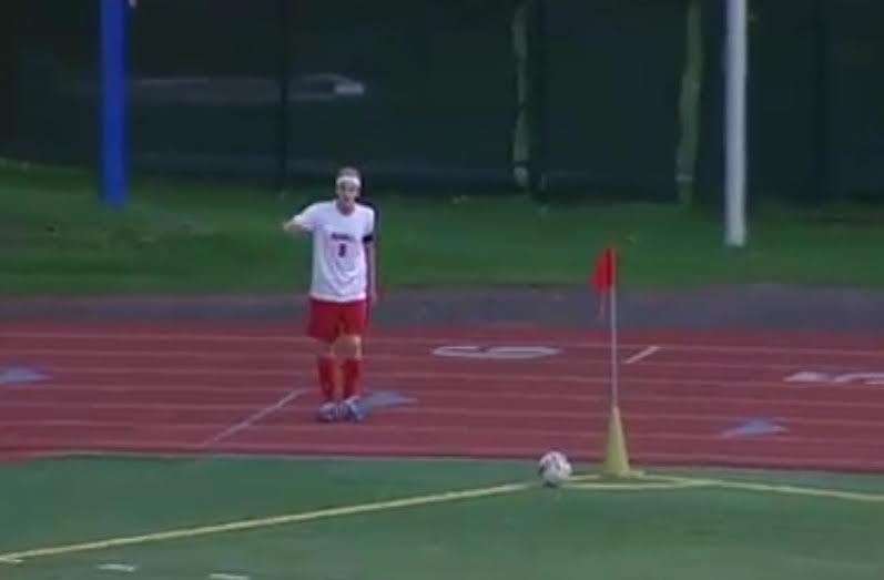 High school soccer player accomplishes extremely rare goal