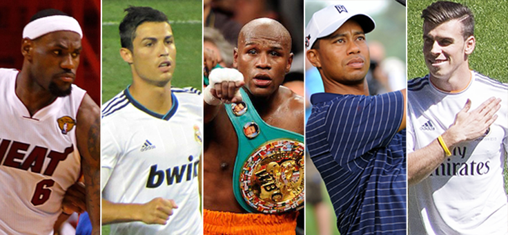 The Highest Paid Athletes Today