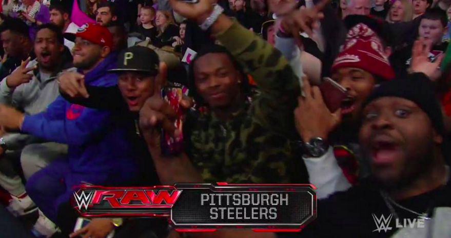 Pittsburgh Steelers organization INSULTED after showing up for WWE Raw