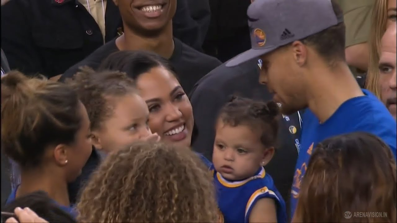 watch the stephen curry u2019s family moment