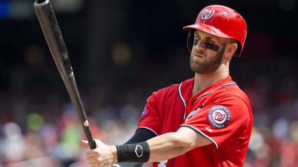 Bryce Harper is MLB's best at 23 years old. Credit: AP/Jacquelyn Martin