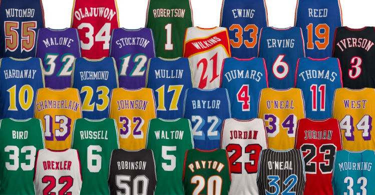 The Best NBA Throwback Jerseys Ever