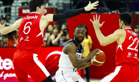 [NBA] The US team had challenges when confronting Turkey