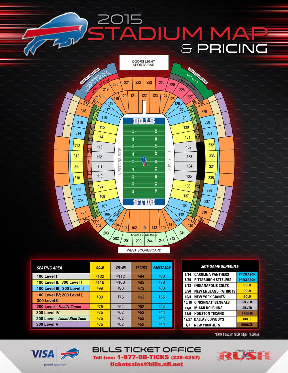 buffalo bills stadium seating chart brokeasshomecom