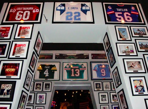 Power sports memorabilia: the site to be for your autographed sportswear
